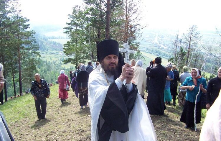 Благословение отца Алексия крестоходцам