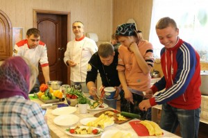 Кулинарный мастер класс в Троицком монастыре