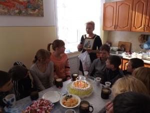 Так подростковый клуб отмечает дни рождения