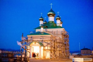 Свято-Никольский храм Селенгинского монастыря