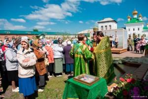 День Святой Троицы. Престольный праздник обители. 2015