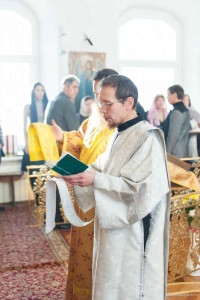 Рукоположение о. Иоанна