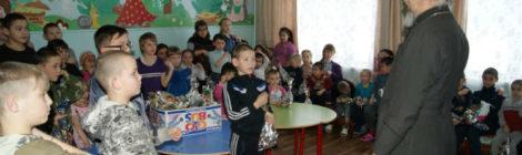 Посетили детский санаторий