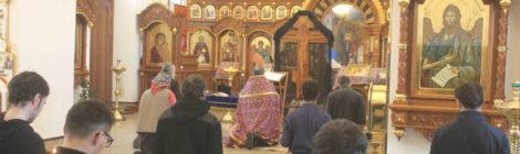 Пассия в Троицком монастыре